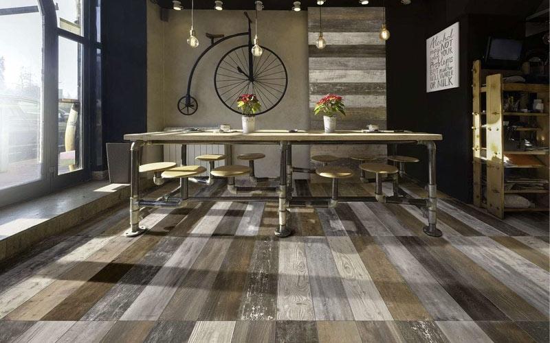 pavimenti moderni effetto legno