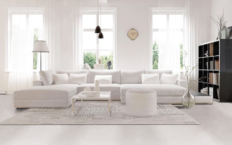Pavimenti interni moderni chiari